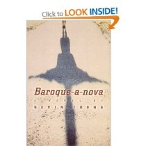 Baroque-a-nova; published by Penguin Canada in April 2001.